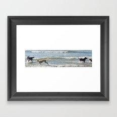 Dogscape Framed Art Print