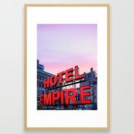 Hotel Empire Framed Art Print