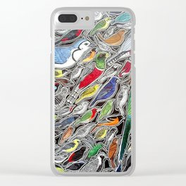 Toucans, parrots and tropical birds of Costa Rica Clear iPhone Case