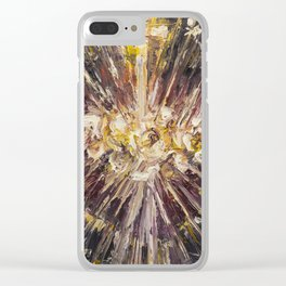 Cor Maria Sacratissimi. (Lighting) Clear iPhone Case