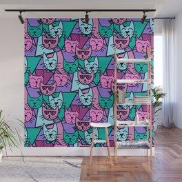 Pop Art Cats Wall Mural