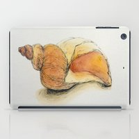 seashell iPad Cases featuring Seashell by Sara Katy