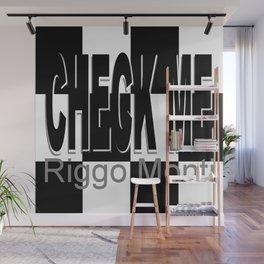 Riggo Monti Design #16 - Check Me Wall Mural