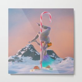 North PoleDance Metal Print
