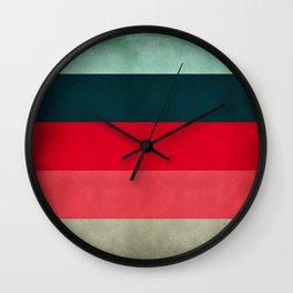 New York City Hues Wall Clock