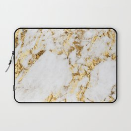 Luxe bright golden Laptop Sleeve