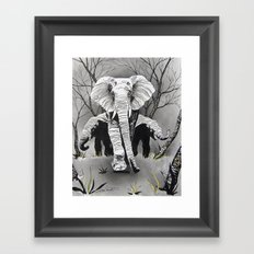 A Mothers Love. Framed Art Print
