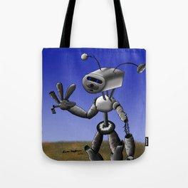 Mr Robo Tote Bag