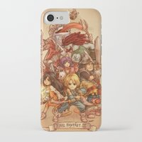 final fantasy iPhone & iPod Cases featuring Final Fantasy IX by Dice