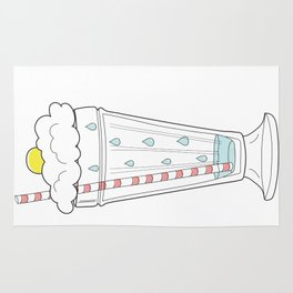 Stormy Milkshake Rug