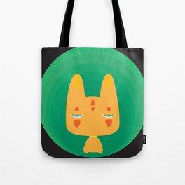 Little Fox [Black Ver.] Tote Bag
