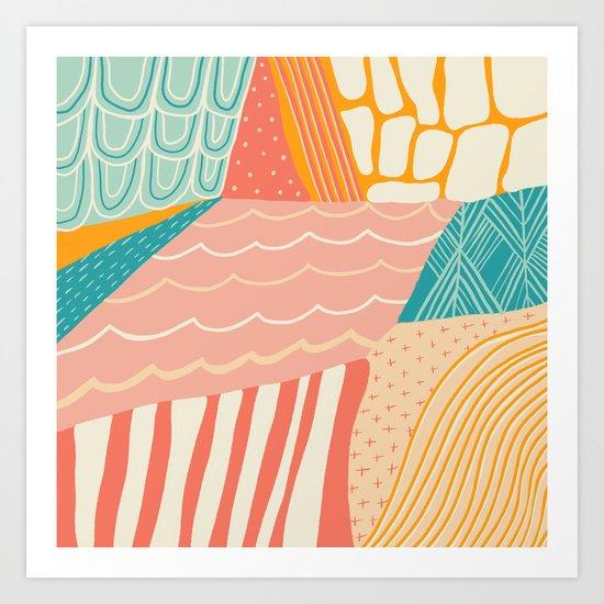 beach quilt by sunshinecanteen