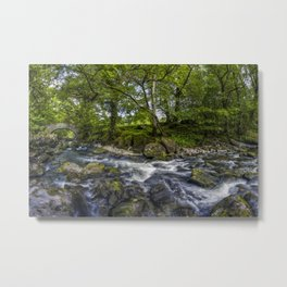 River Conwy Metal Print