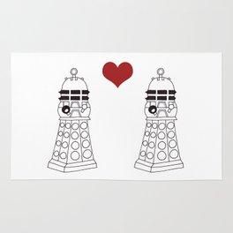 Daleks need love too Rug