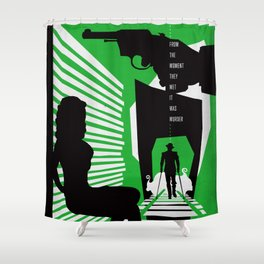 Hardboiled :: Double Indemnity :: James M. Cain Shower Curtain