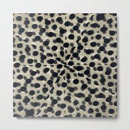 Metallic Camouflage Metal Print