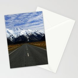 Road to Mount Cook Stationery Cards