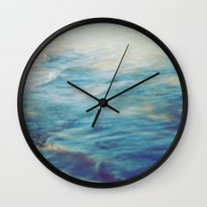 Fisherman in the distance, Mauritius II Wall Clock