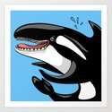 Happy Killer Whale Orca by elledeegee