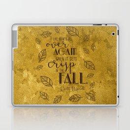 Crisp in the Fall Laptop & iPad Skin