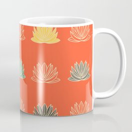 Asian fusion red Coffee Mug