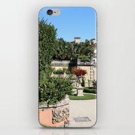 Villa Vizcaya Garden View iPhone Skin
