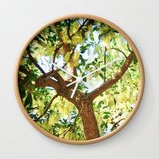 Shining Tree Wall Clock