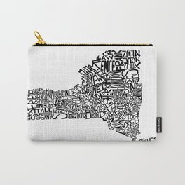Typographic New York Carry-All Pouch