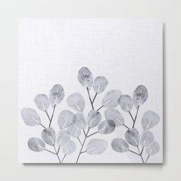 Japanese Woodblock Botanical Metal Print