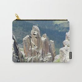 Valley View from Above Landscape Carry-All Pouch