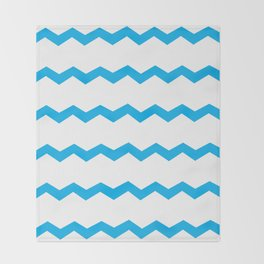 Blue Skies Throw Blanket
