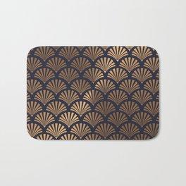 Art Deco Shell Pattern Bath Mat