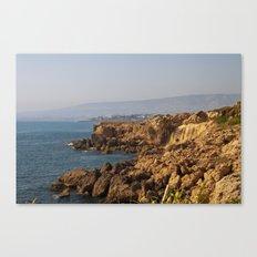 The sea coast Canvas Print
