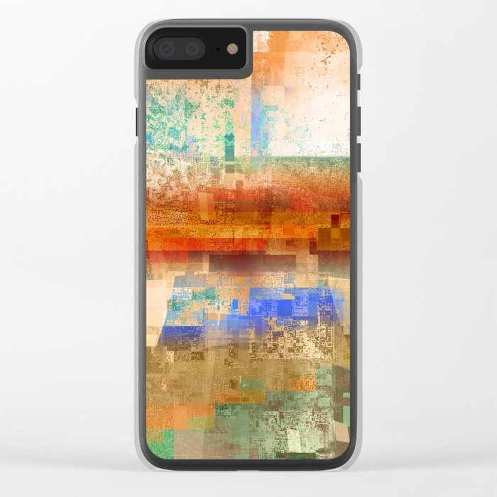 utah 2 Clear iPhone Case