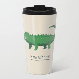 croc cannibalism Travel Mug