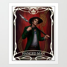 Hanged Man: Mat Cauthon Art Print