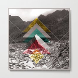 Sojourn series - Fox Glacier  Metal Print