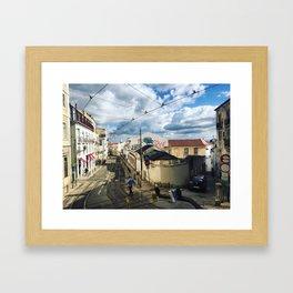 Coffee in Portugal Framed Art Print