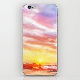 Calm before a storm iPhone Skin