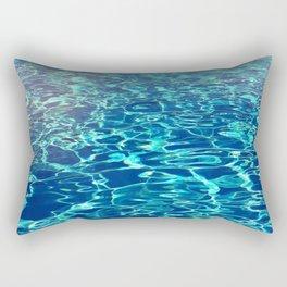 Designer Pool Water Rectangular Pillow