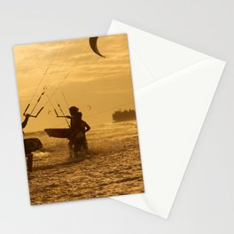 Kitesurfing Stationery Cards