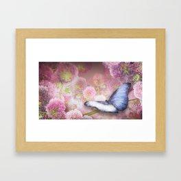 Butterfly trap Framed Art Print