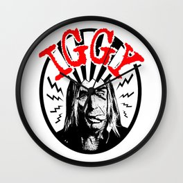 There is Only ONE Iggy  |  Iggy Pop Wall Clock