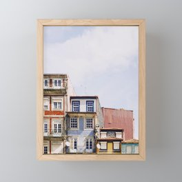 Postcard from Porto Framed Mini Art Print