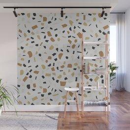 Beige Terrazzo Wall Mural