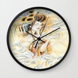 Sun Oiran Wall Clock