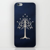gondor iPhone & iPod Skins featuring For Gondor by enthousiasme