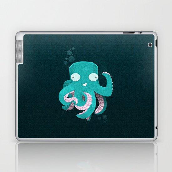 Cute Octopus Laptop & iPad Skin