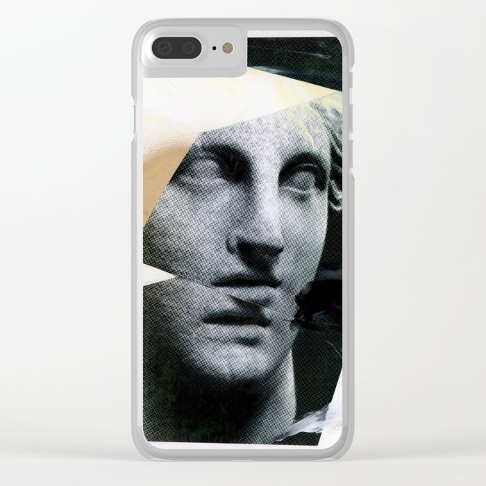 Untitled (Painted Composition 8) Clear iPhone Case