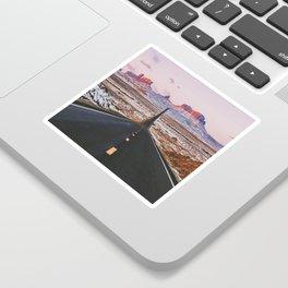 Monument Valley Sunrise Sticker